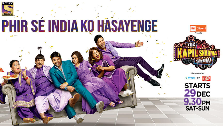 Review of Sony TV's The Kapil Sharma Show: Amazingly scripted; has a great start!!