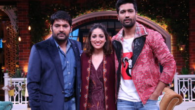 Vicky Kaushal and Yami Gautam in The Kapil Sharma Show 5