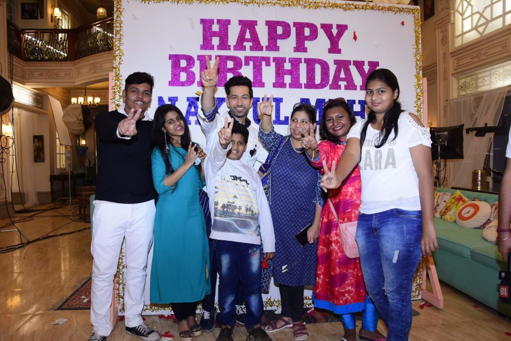 StarPlus: Fans surprise actor Nakuul Mehta for his birthday 2
