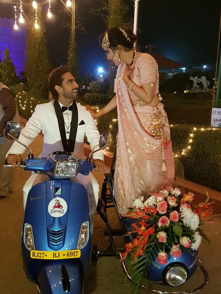 Rohit Purohit and Sheena Bajaj's wedding pics
