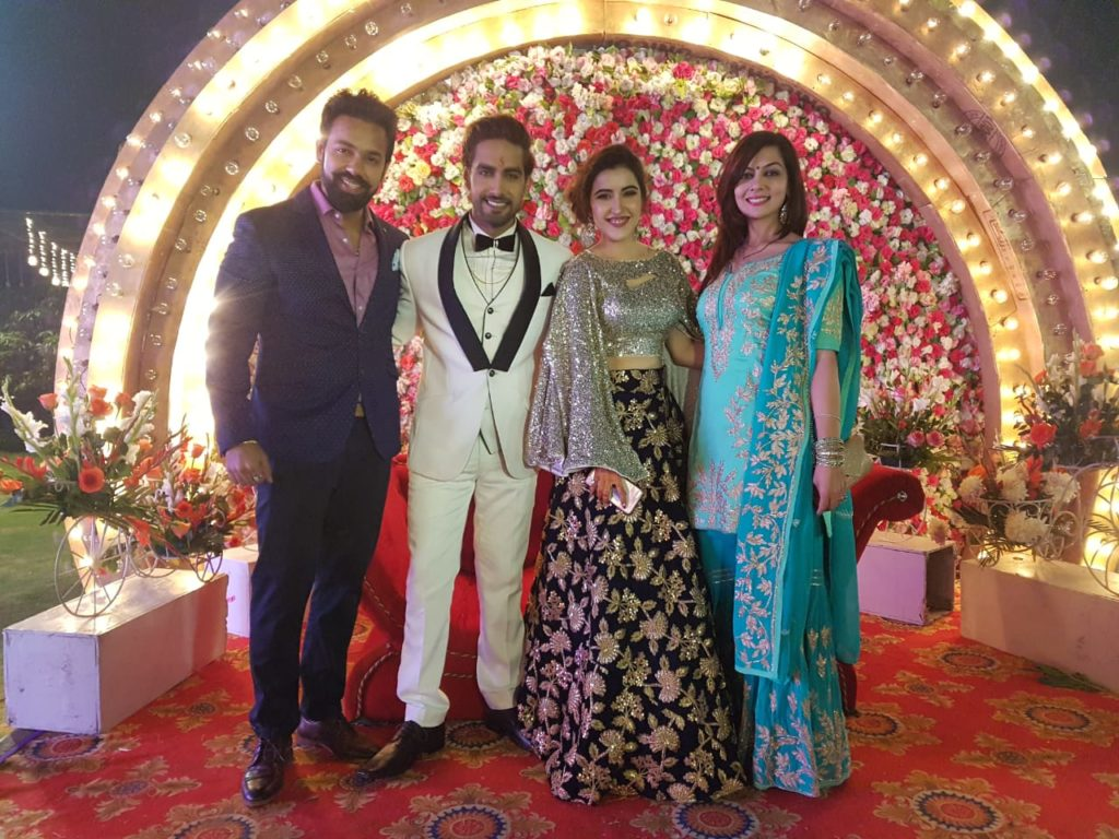 Rohit Purohit and Sheena Bajaj's wedding pics 2
