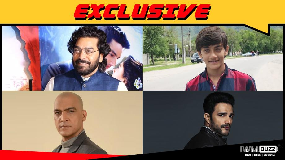 Ashutosh Rana, Rudra Soni, Manish Wadhwa and Jitin Gulati in web-series Maharaja Chhatrasal