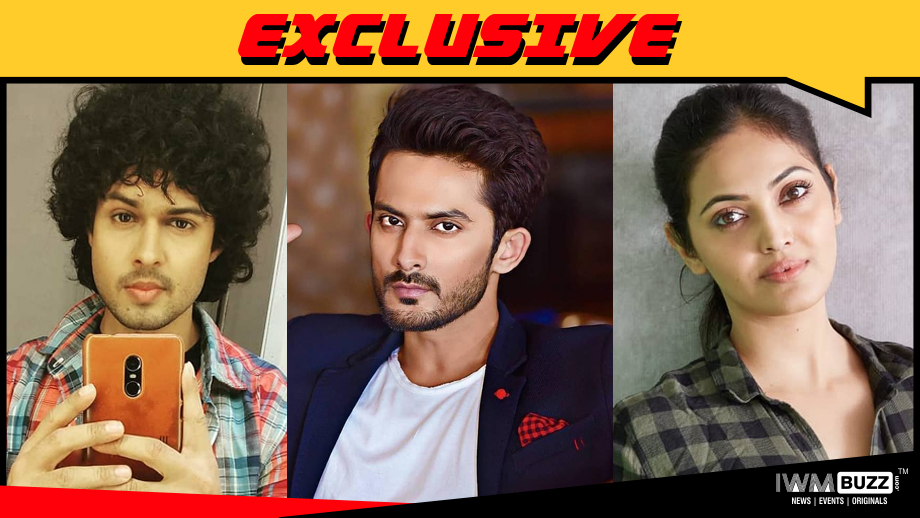 Devesh Sharma, Apoorv Vij and Suparna Malakar in WatchO's series Breaking News