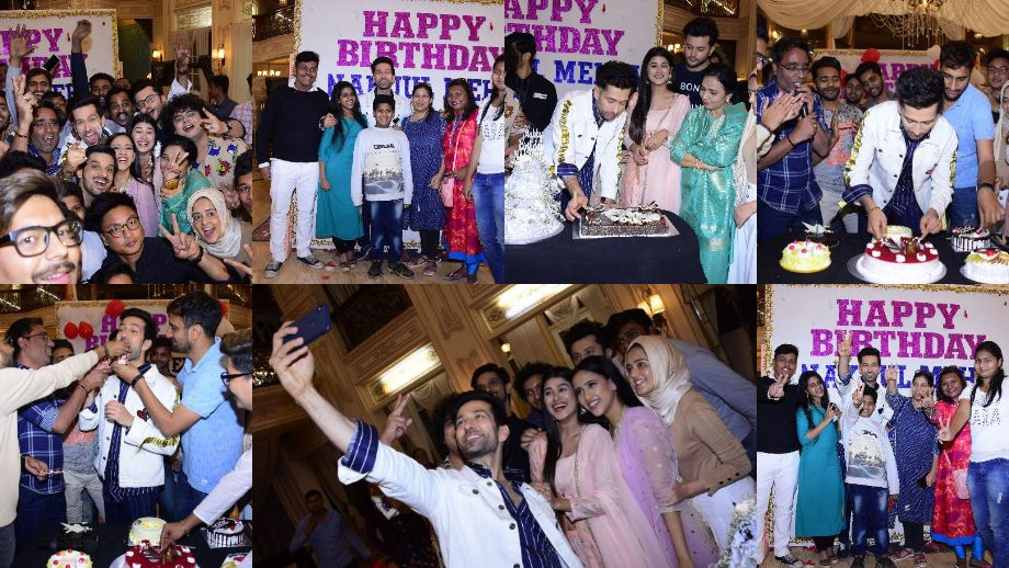 StarPlus: Fans surprise actor Nakuul Mehta for his birthday