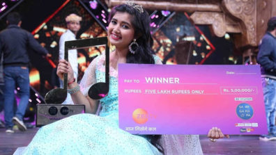 Ishita Vishwakarma wins Zee TV's Sa Re Ga Ma Pa 2