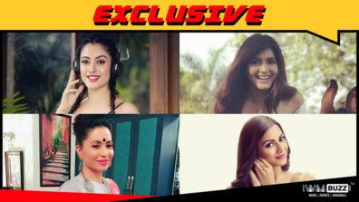 Aditi Sharma, Mreenal Deshraj, Mala Salariya and Sangeeta Chauhan in Naagin 3