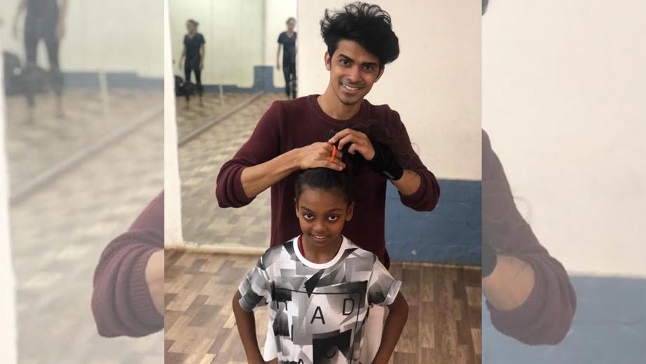 Pratik makes Super Dancer – Chapter 3 contestant Pritam's hair to divert his mind