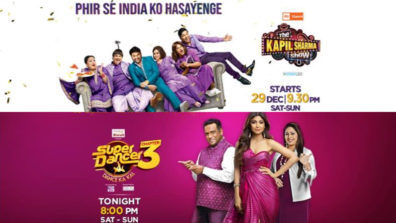 Sony TV's The Kapil Sharma Show and Super Dancer rate BIG