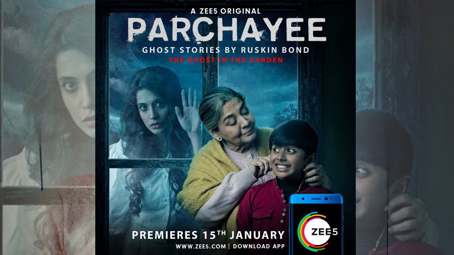 ZEE5 to launch web series titled 'PARCHAYEE - ghost stories by Ruskin Bond'