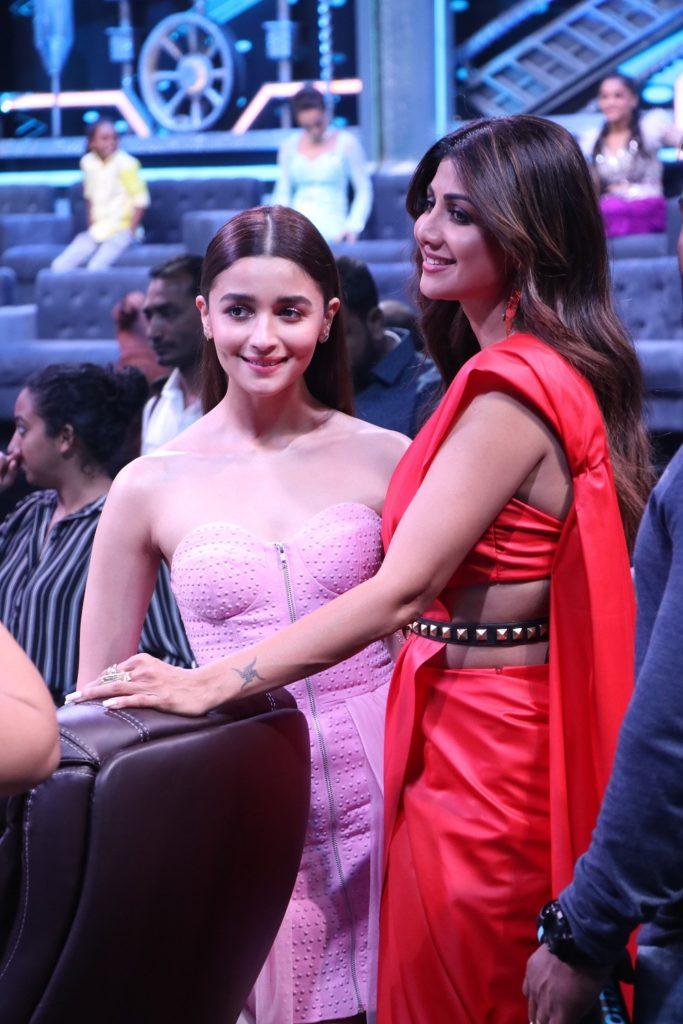 Ranveer Singh and Alia Bhatt on Super Dancer Chapter 3