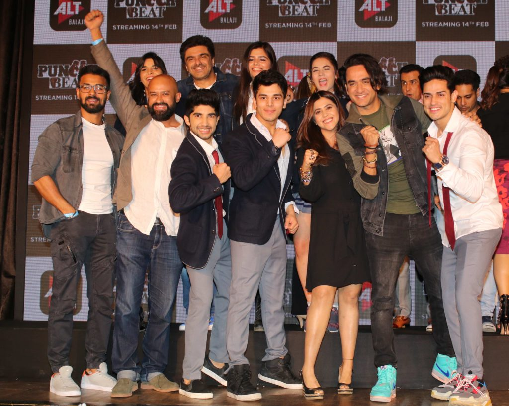Launch of ALTBalaji's Puncchbeat and Kehne Ko Humsafar Hain 2