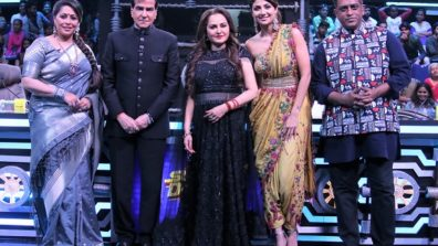 Jeetendra and Jaya Prada grace Super Dancer Chapter 3 4