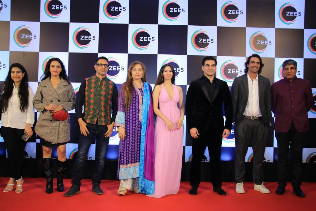 Celebs galore at ZEE5's first anniversary