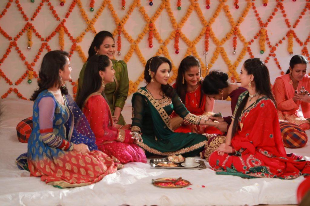 Sameer and Naina's Mehndi Ceremony on Yeh Un Dinon Ki Baat Hai