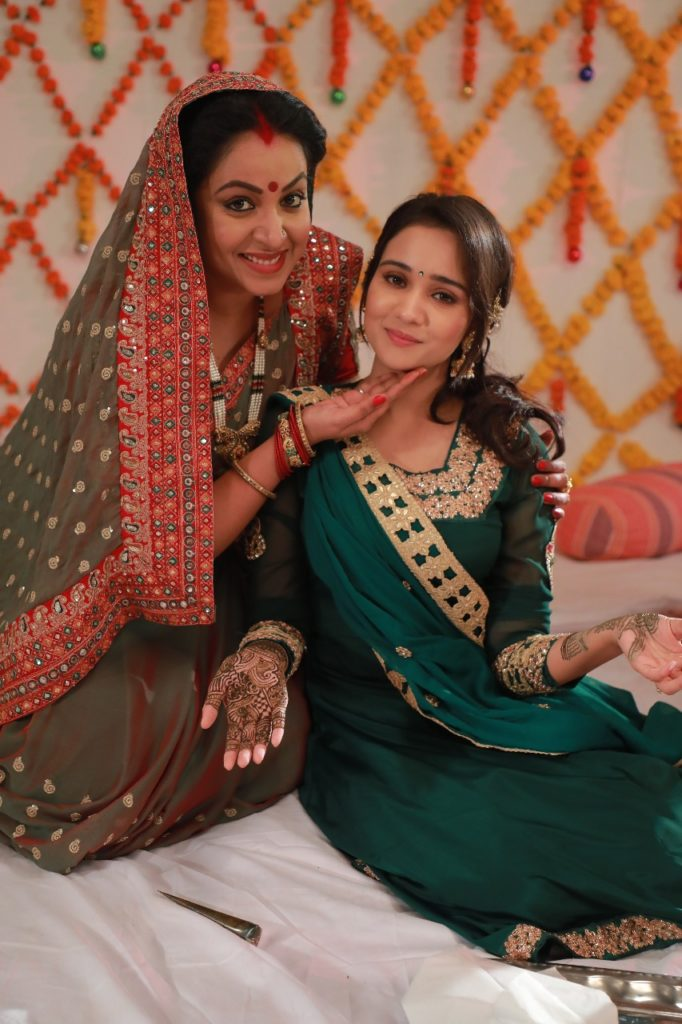 Sameer and Naina's Mehndi Ceremony on Yeh Un Dinon Ki Baat Hai 2