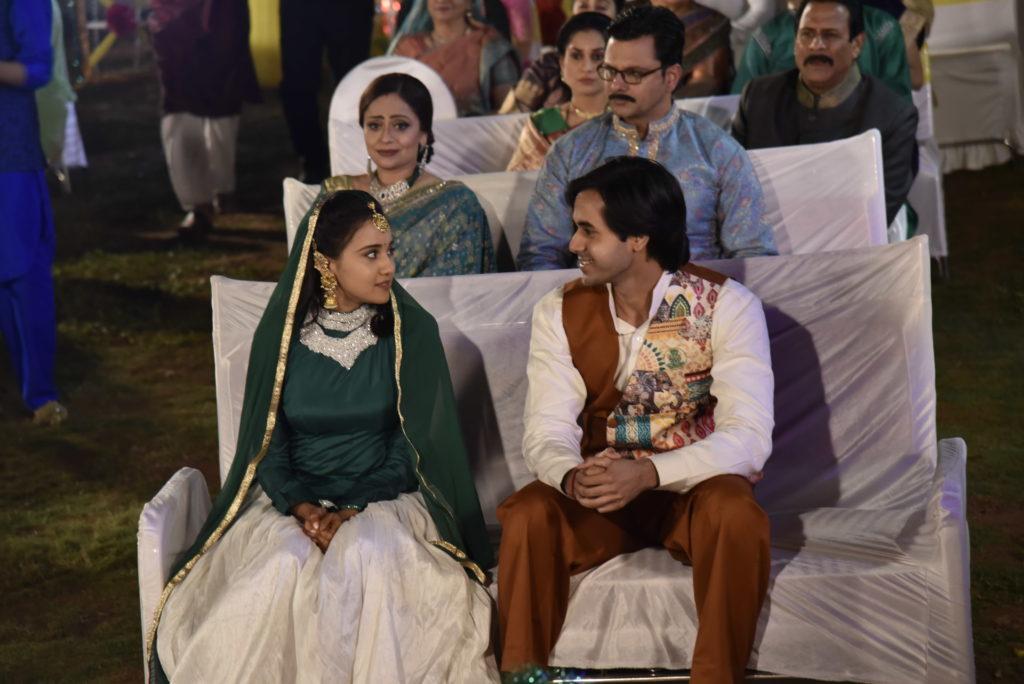 Sangeet ceremony of Sameer and Naina from Yeh Un Dinon Ki Baat Hai 1