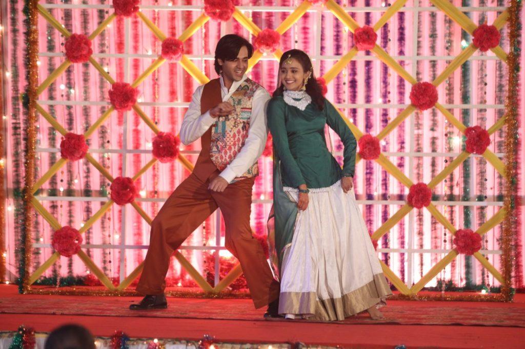 Sangeet ceremony of Sameer and Naina from Yeh Un Dinon Ki Baat Hai 7
