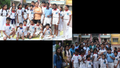 Taarak Mehta Ka Ooltah Chashmah team showers happiness on students from the school for deaf