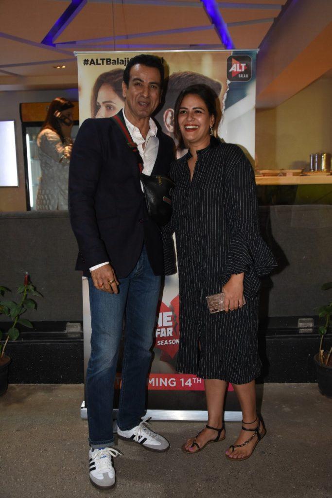Celebs galore at the screening of ALTBalaji's Kehne Ko Humsafar Hain 2