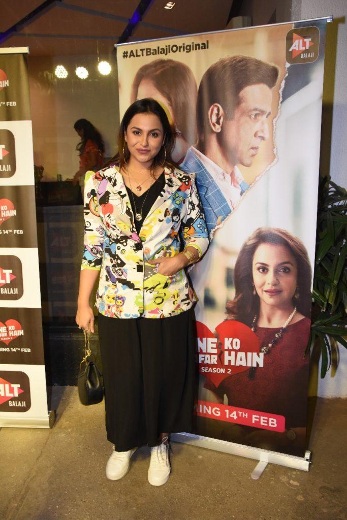 Celebs galore at the screening of ALTBalaji's Kehne Ko Humsafar Hain 2 18