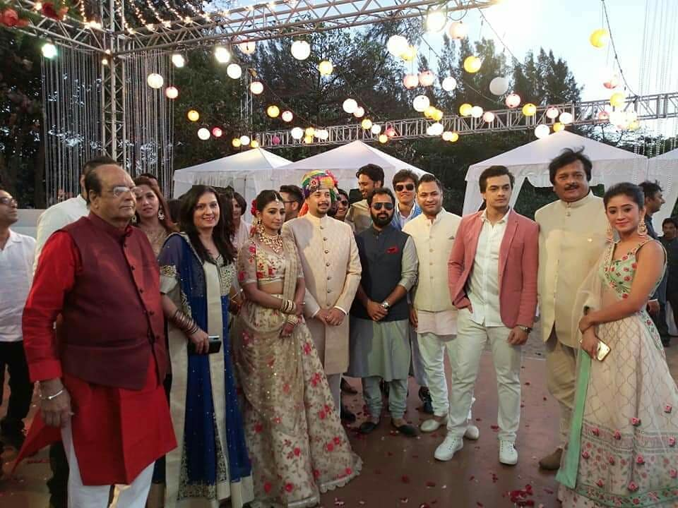 Yeh Rishta Kya Kehlata Hai actor Mohena Kumari's engagement pics 4