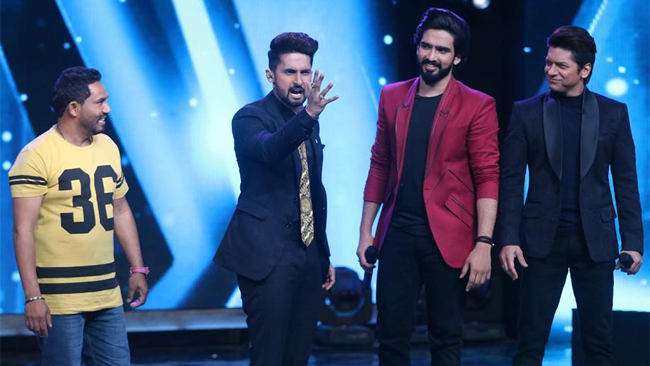 Amaal Mallik, Shaan and Ravi Dubey imitate Sunny Deol on Sa