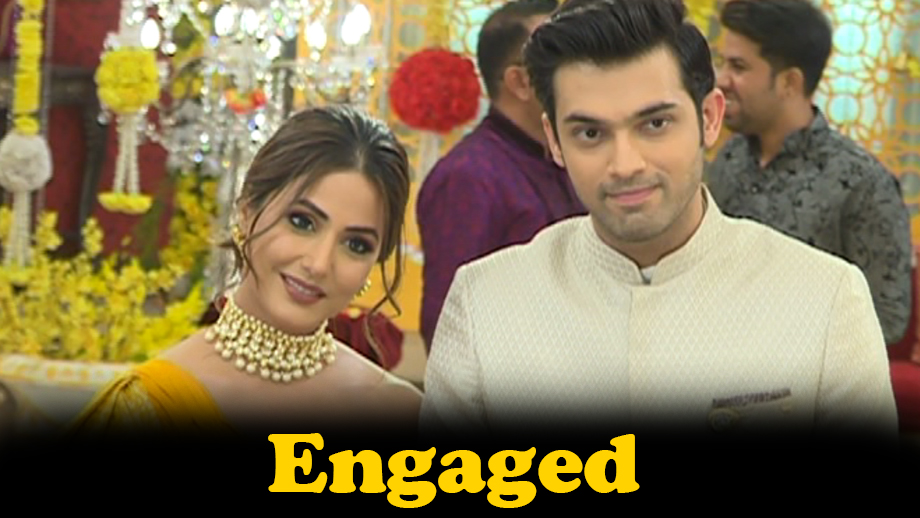 Anurag and Komolika's engagement drama in Star Plus' Kasautii Zindagii Kay
