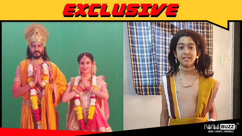 Dinesh Mehta, Monica Sharma and Meet Mukhi in Colors' Shrimad Bhagavad