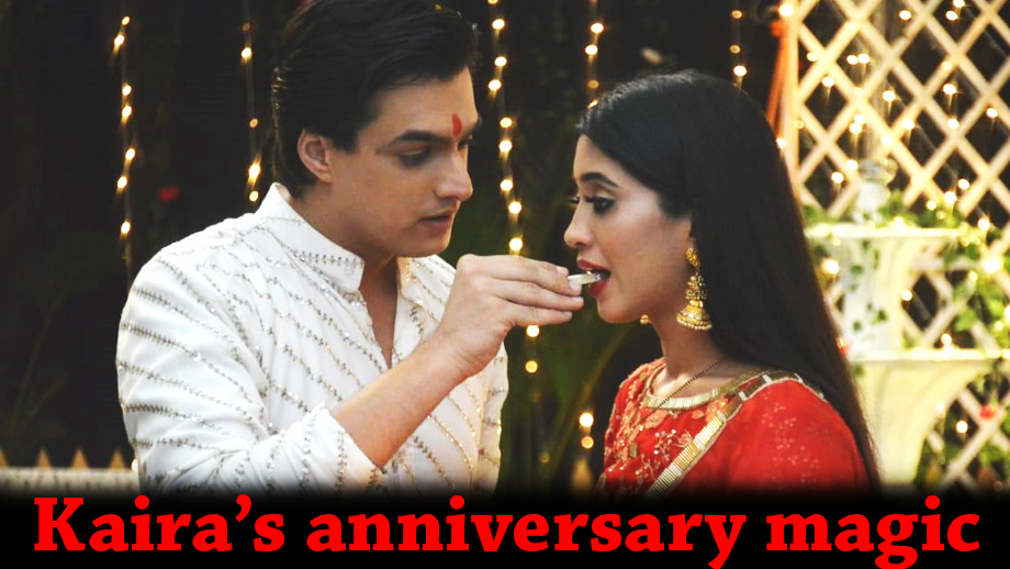 Kartik and Naira's 'unique' anniversary celebration in Yeh Rishta Kya Kehlata Hai