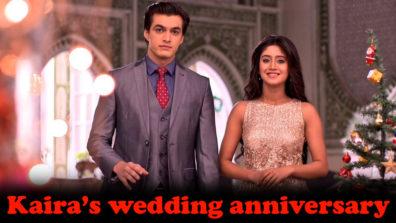 Kartik to gear up for Kaira's wedding anniversary in Yeh Rishta Kya Kehlata Hai