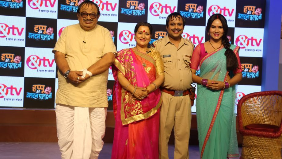 Launch of &TV's Happu Ki Ultan Paltan