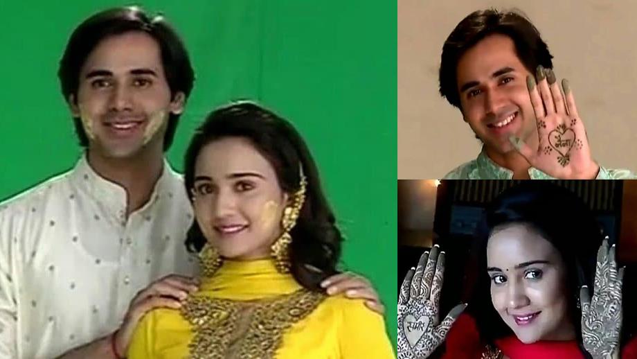 Sameer-Naina's 'Haldi and Mehendi' in Yeh Un Dinon Ki Baat Hai