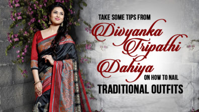 Take Some Tips from Divyanka Tripathi Dahiya on How to Nail Traditional Outfits