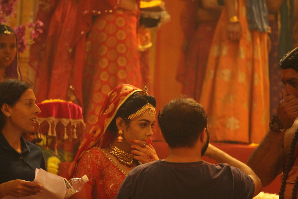 Candid moments from the sets of RadhaKrishn 14