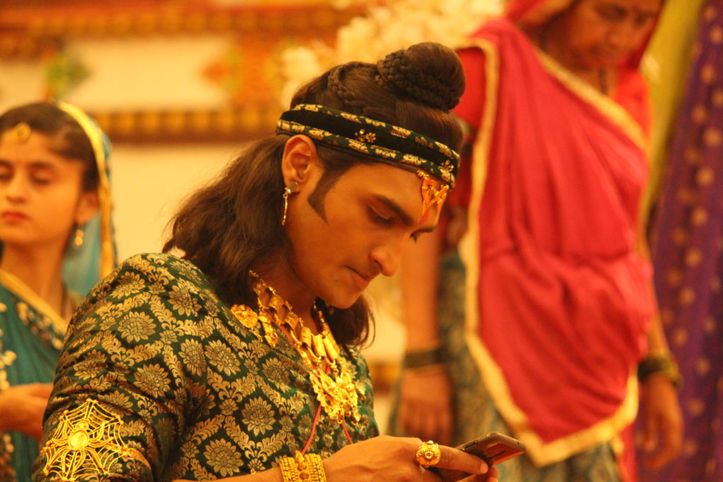 Candid moments from the sets of RadhaKrishn 2