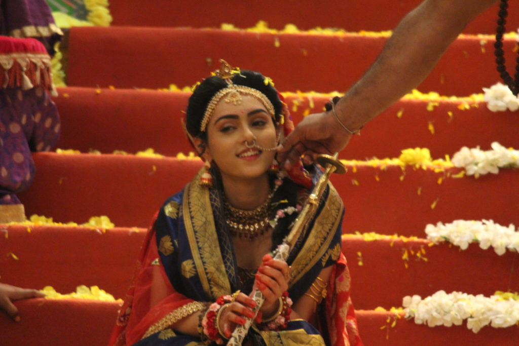 Candid moments from the sets of RadhaKrishn 6