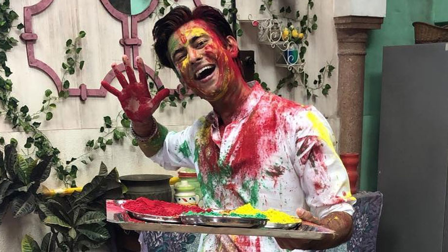 Eco-friendly Holi on the sets of Pyaar ke Papad