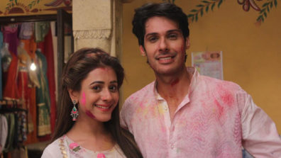 Elaichi and Pancham struggle to celebrate Holi together on Sony SAB's Jijaji Chhat Per Hain