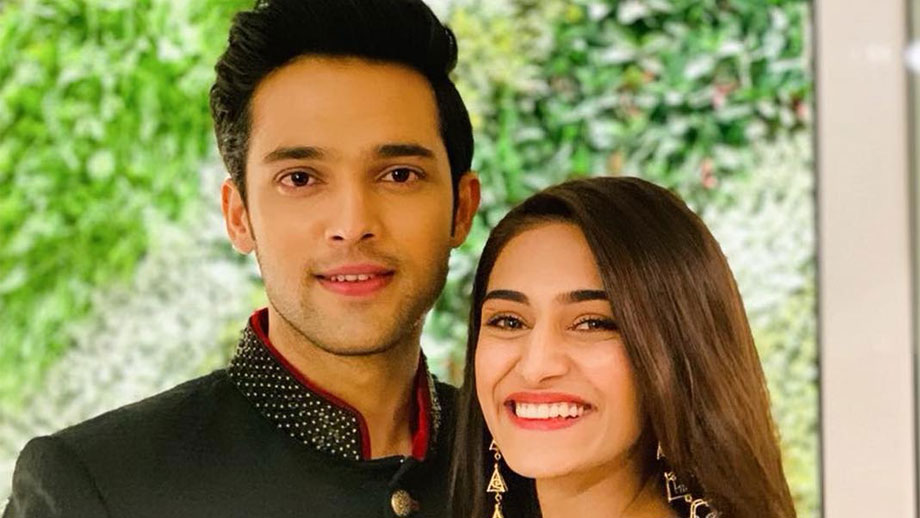 Erica Fernandes' special birthday wish for Kasautii Zindagii Kay co-star Parth Samthaan