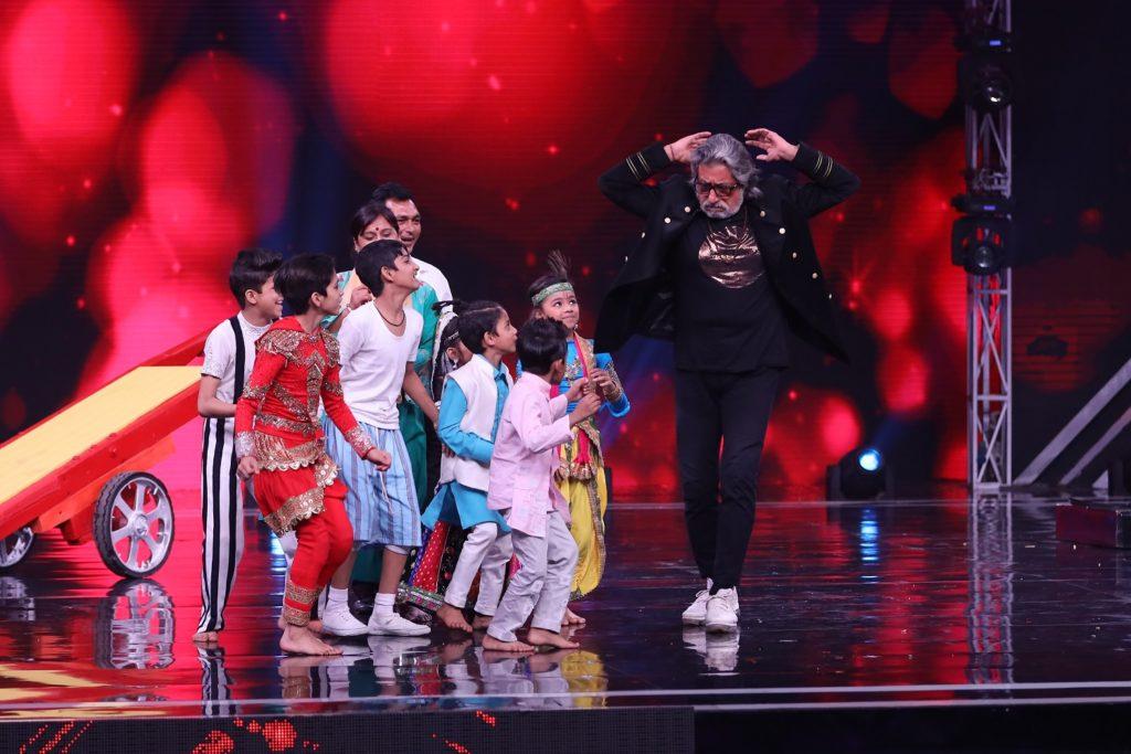 Govinda and Shakti Kapoor grace Super Dancer Chapter 3 for Holi Special episode 7
