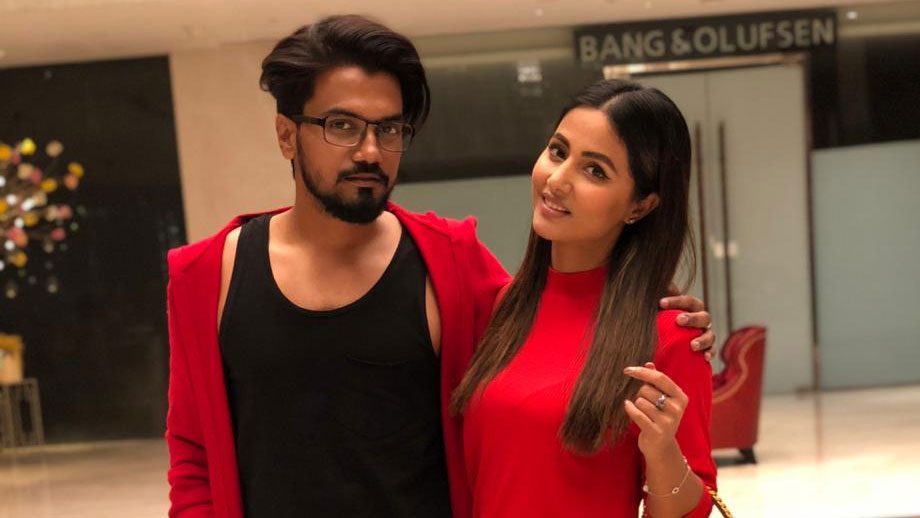 Hina Khan to shoot with Rocky Jaiswal for Kitchen Champion