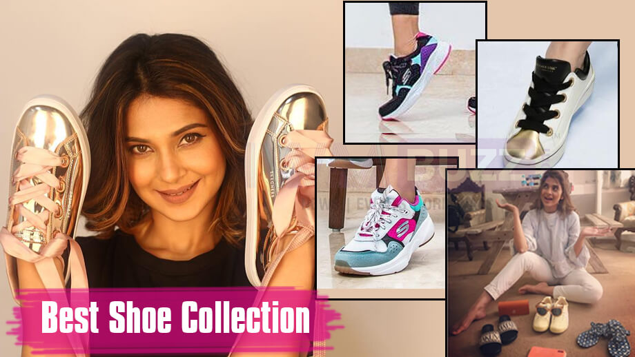 Jennifer Winget Has Got The Best Shoe Collection In Town!
