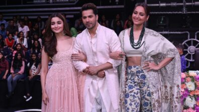 Kalank star cast graces Super Dancer Chapter 3 1