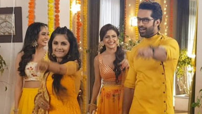 Krishna Chali London: Haldi drama between Shivani, Veer and Krishna 4