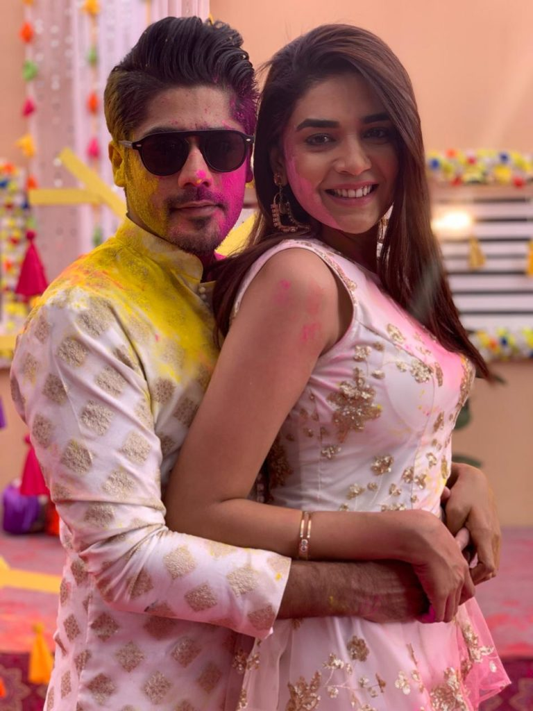 Kundali Bhagya's Srishti and Sameer's Holi celebration