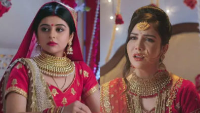 Musakaan and Kajal fight to become Raunak's 'Biwi No. 1' in Star Bharat's Musakaan