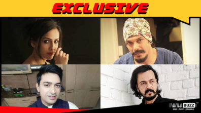 Niyati joshi, Mahesh Shetty, Rohit Gujjar and Jignesh Joshi in ALTBalaji's Boss – Baap of Special Services