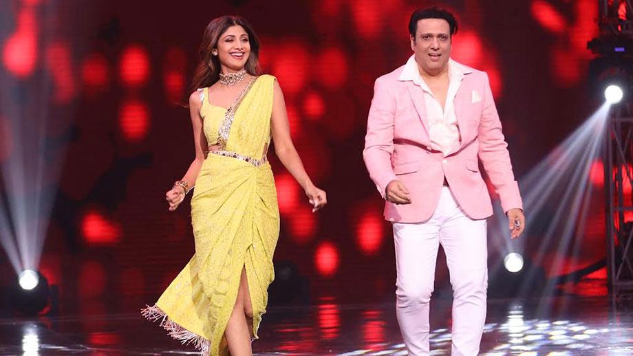 Nostalgia: Shilpa and Govinda perform together after 20 years on sets of Super Dancer Chapter 3