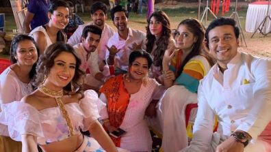Pizza Party on Ishq Mein Marjawan-Udaan sets