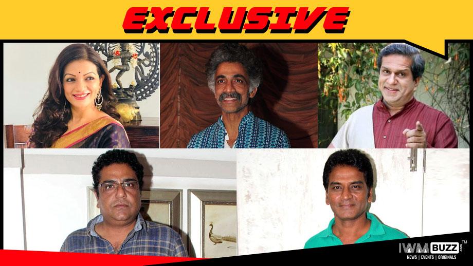 Prachee Shah, Makrand Deshpande, Darshan Zariwala, Zakir Hussain and Daya Shankar Pandey in Eros Now's series Modi